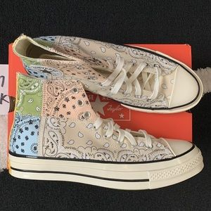 Offspring x Converse All Star Hi 70s Trainers